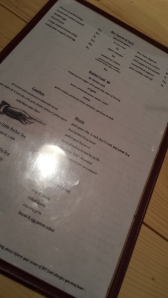 Food Menu at Oliver Speck's